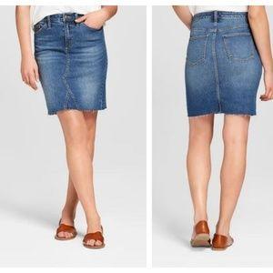 Universal Thread NWOT Denim Mini Skirt
